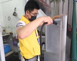 老式冰箱清洗