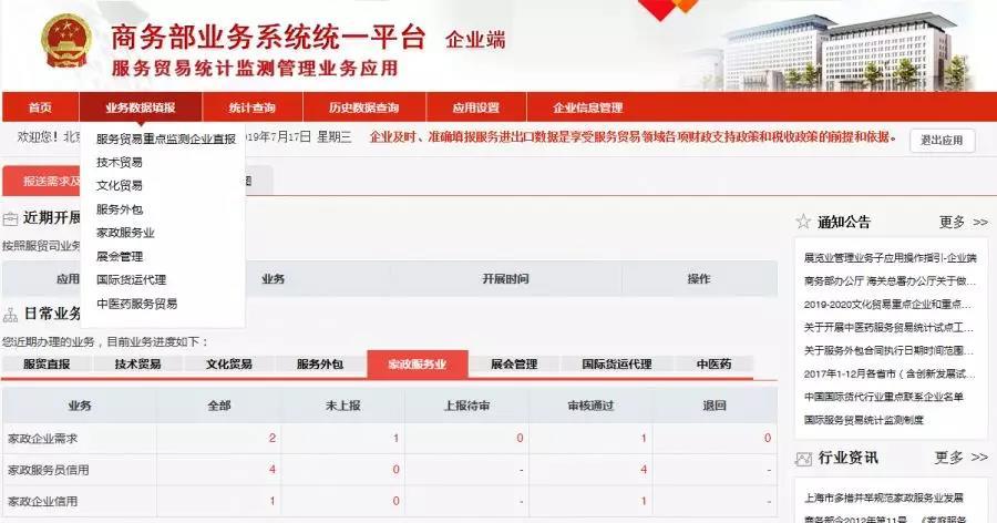 安徽省家政行业动态