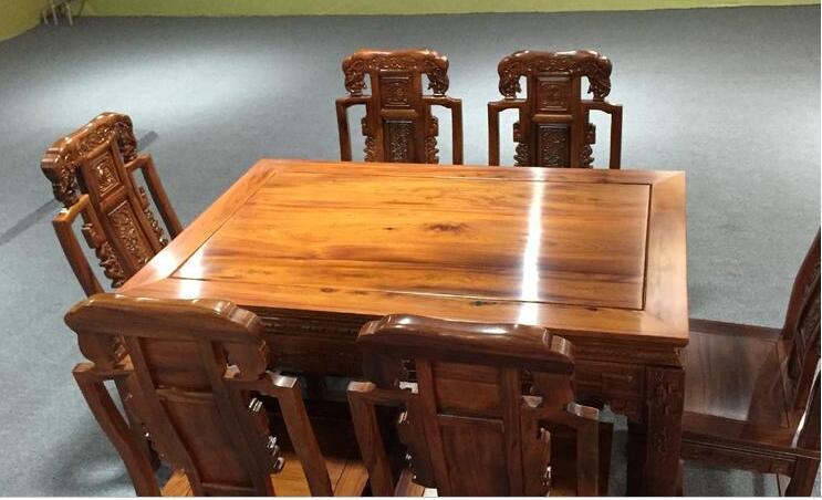 古典中式四方桌