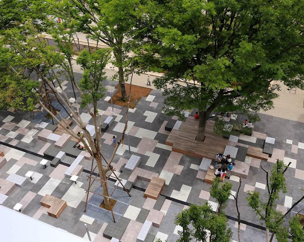 园林陶瓷透水砖