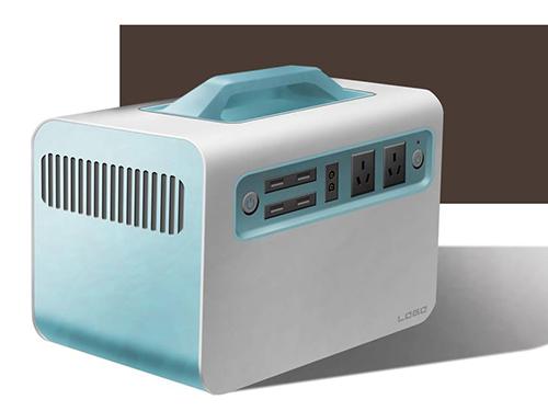 电池箱外壳造型设计