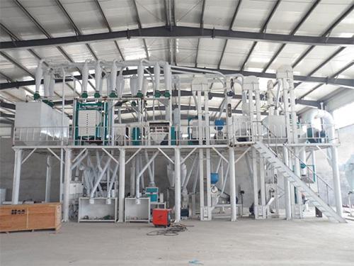 50吨玉米加工设备