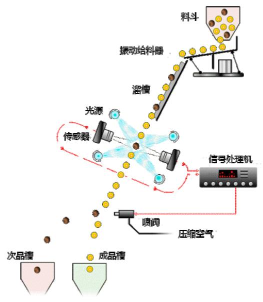 大米色选机展示图