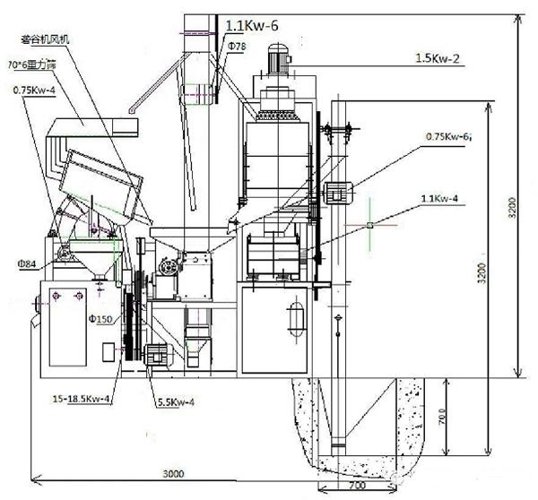 20吨大米加工设备厂家