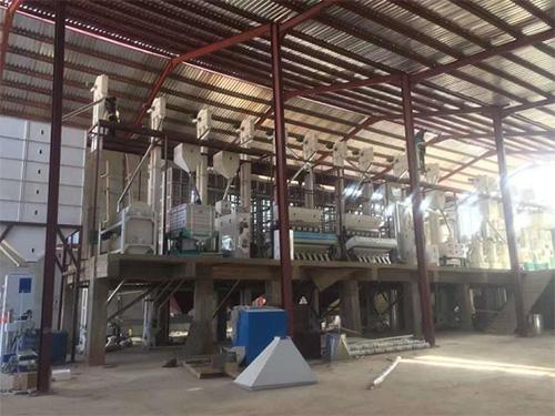 100吨大米加工成套设备