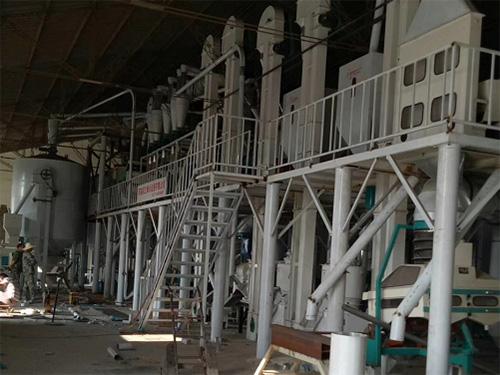 吉林200吨大米加工设备