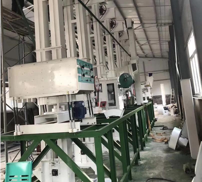 50吨小米加工机器