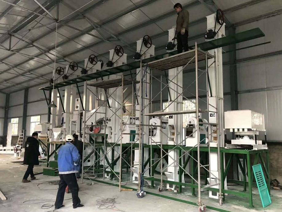 日产50吨小米机组