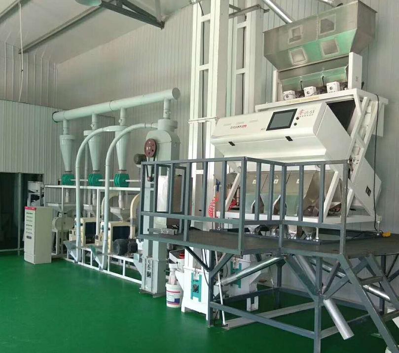 日产量20吨小米加工机械