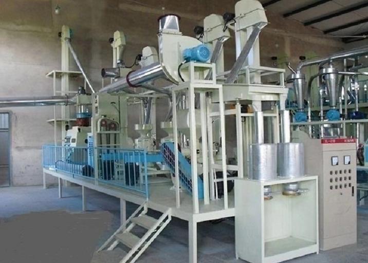 小产量小米加工成套设备