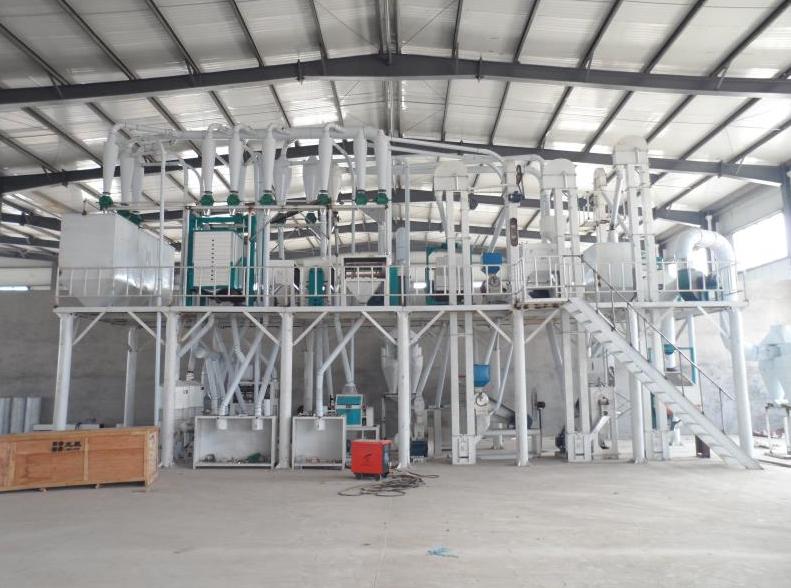日产50吨玉米加工设备