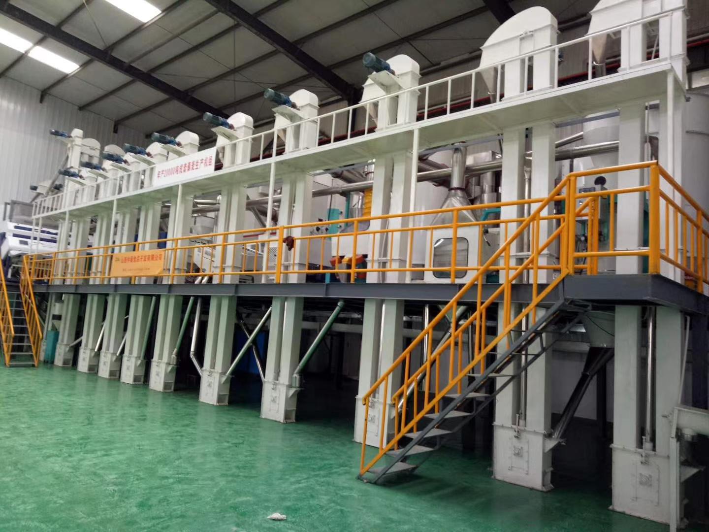 小米整套碾米机器(50吨)
