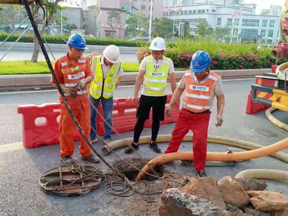 市政地下管道疏浚