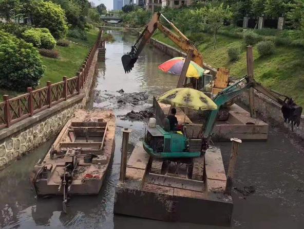 益阳市政河道清淤