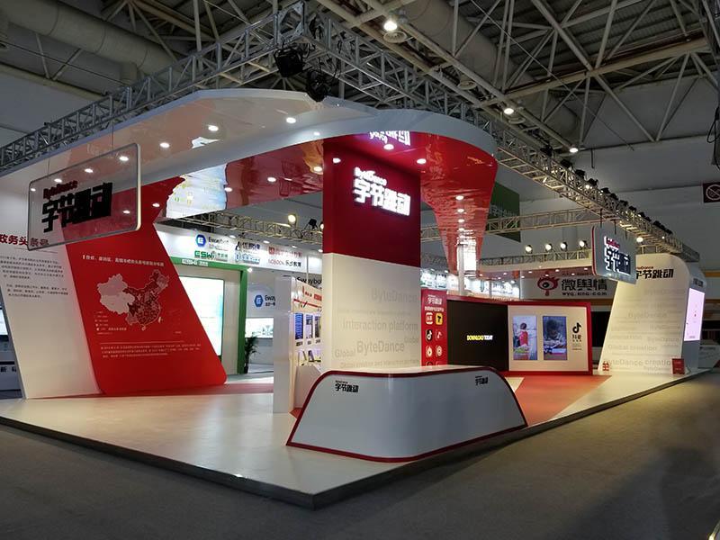 长沙展台搭建工厂介绍展台搭建小技巧之自主创新的展位