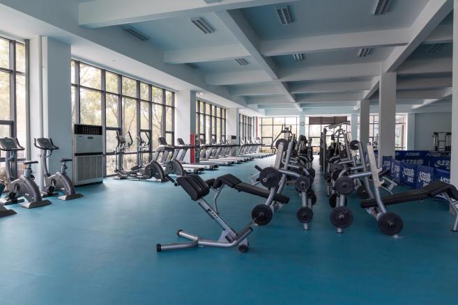 室内健身房地胶案例展示