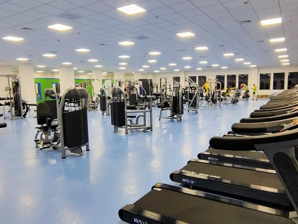 湘西自治州人民医院工会健身房