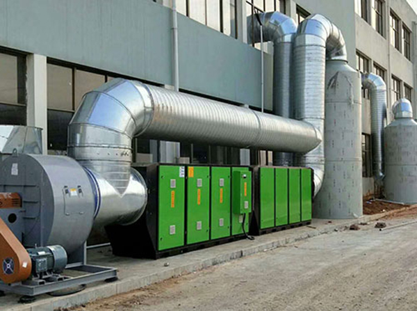 湖南某企業廢氣處理設備