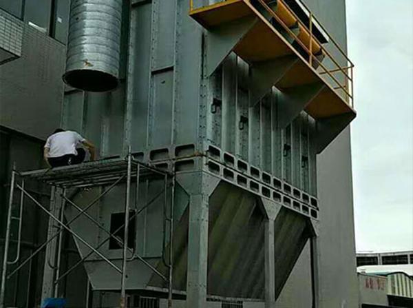 湖南某企業粉塵處理設備