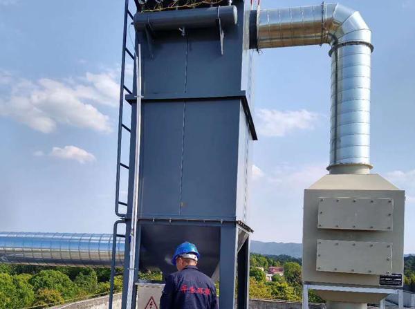 活性炭吸附箱施工