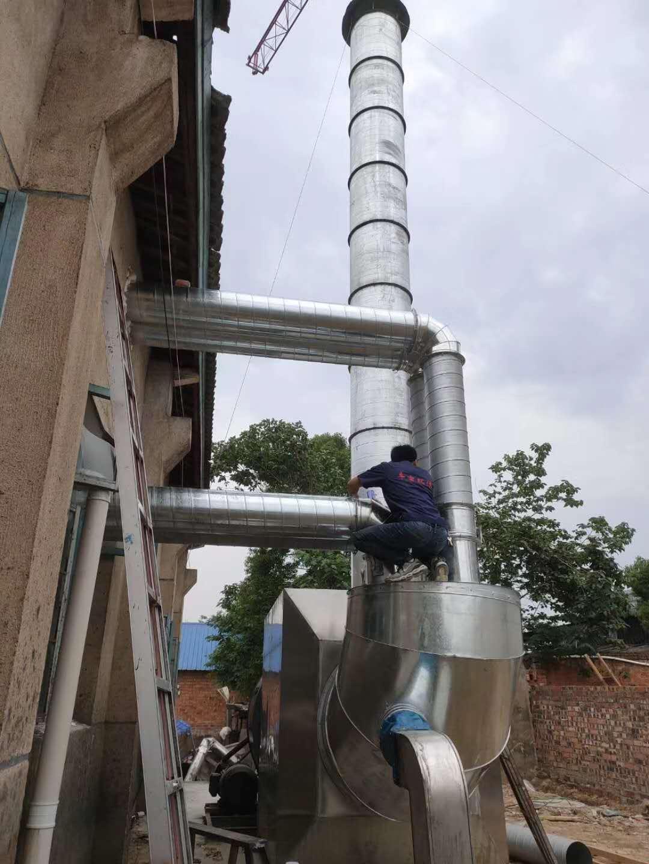 蚊香厂活性炭吸附箱安装