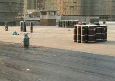 屋顶SBS改性沥青防水卷材施工