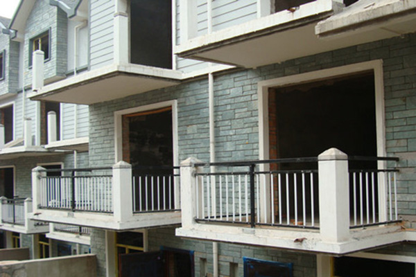 湖南锌钢阳台护栏