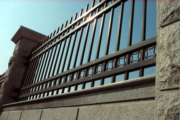 长沙铝艺围墙护栏施工