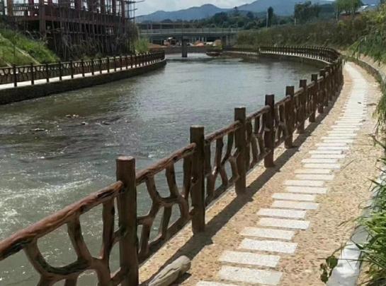 仿藤木河堤护栏