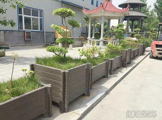 常德仿木花箱厂家介绍仿木花箱的特点