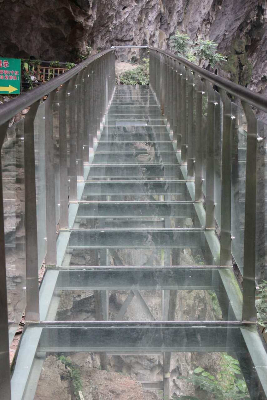 玻璃棧道景區