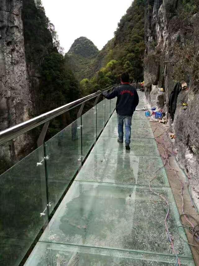 高空玻璃棧道