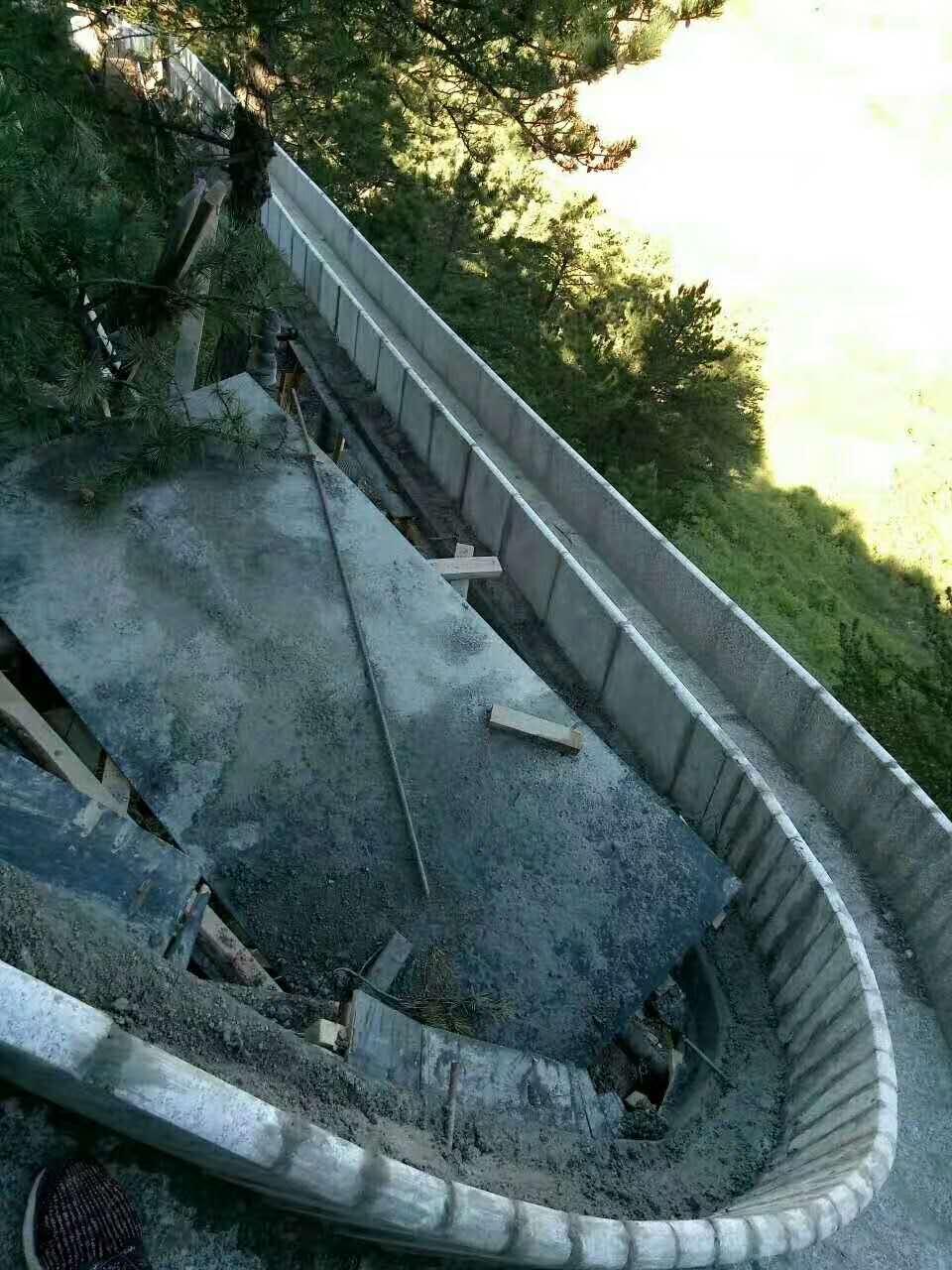 旱滑道工程施工