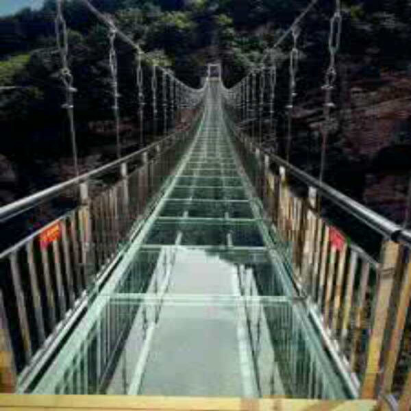 玻璃吊橋施工