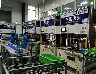 助力泵生産線建设