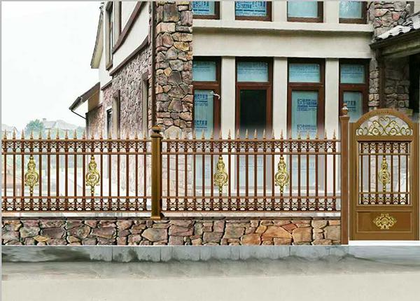 湖南庭院门告诉您什么是院子里的''门面担当''