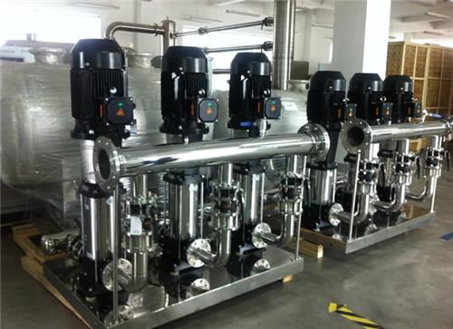 小区空气能热水系统