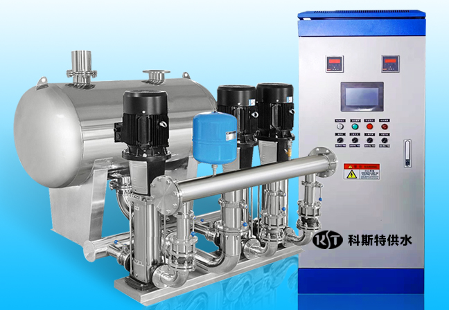 浅谈无负压供水设备安装与调试