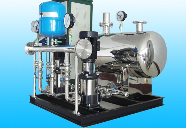 常用的无负压供水设备有什么功能特点?