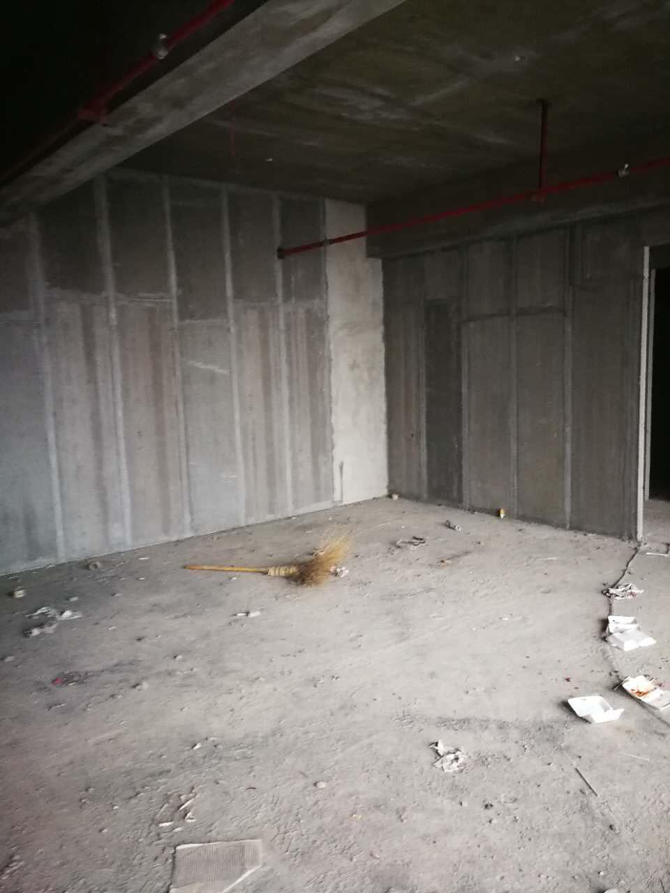 轻质隔墙板现场施工环境展示