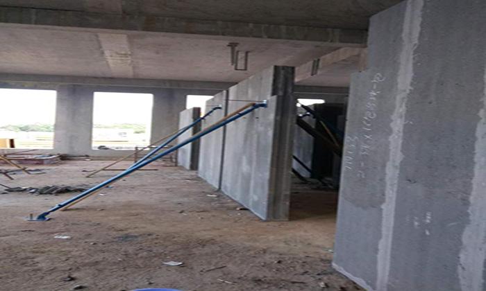 长沙轻质隔墙现场施工环境