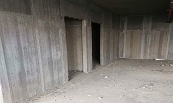 轻质隔墙现场施工环境图片
