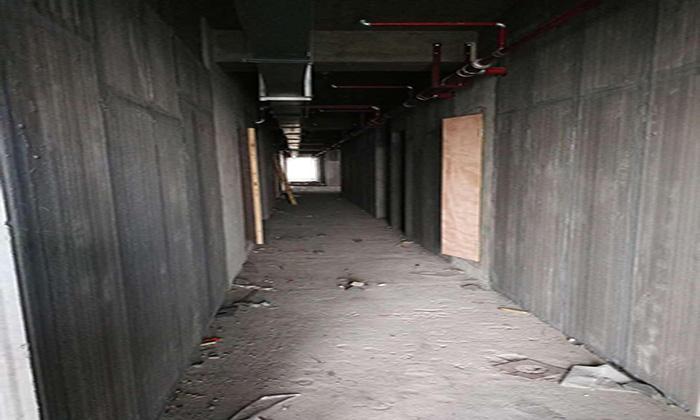 轻质砖现场施工图片