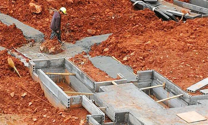 平江樁基礎輕質隔牆板項目