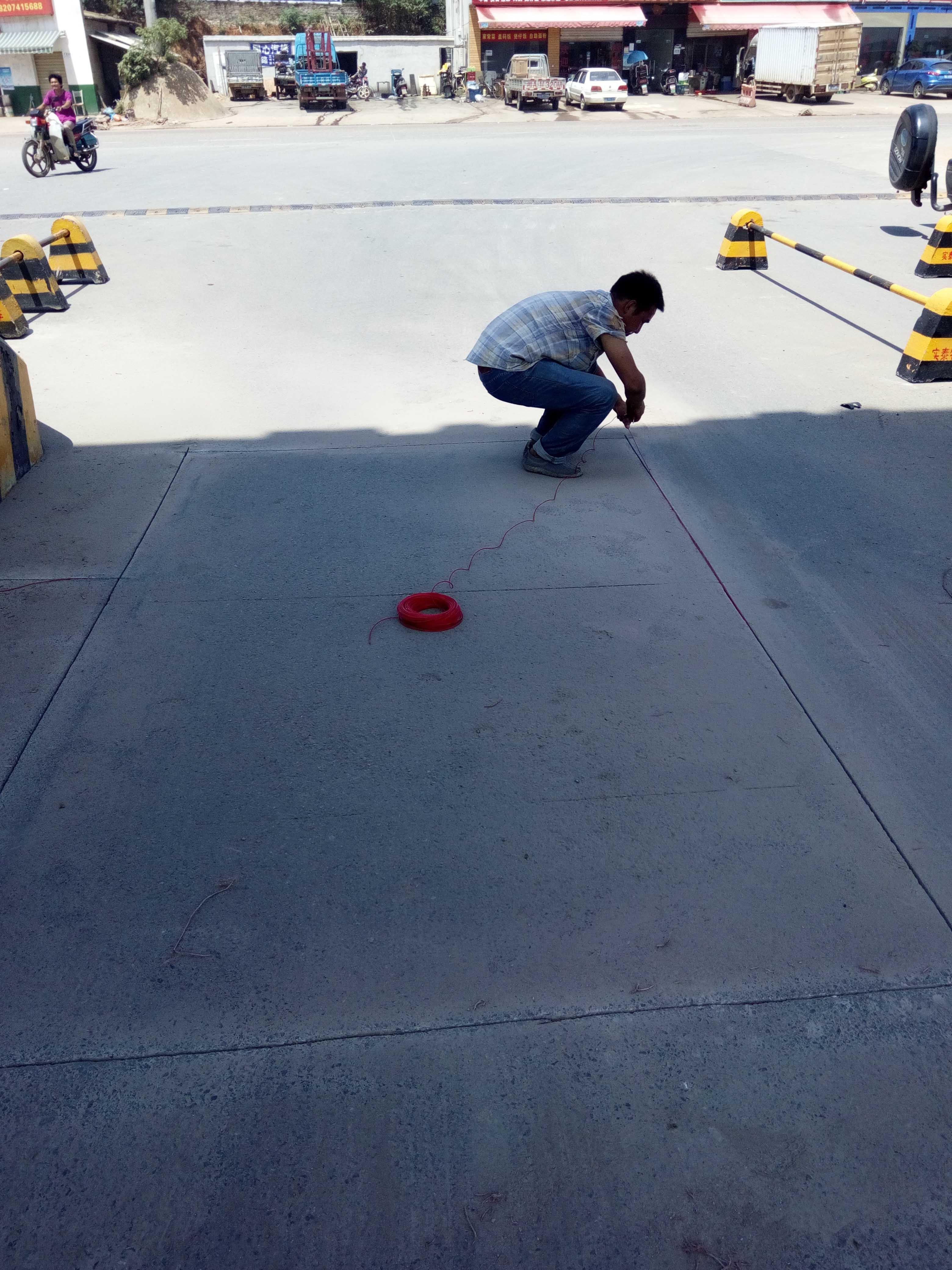 长沙停车场系统施工
