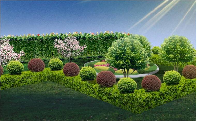 湖南屋顶绿化公司讲解绿化率与绿地率有何区别