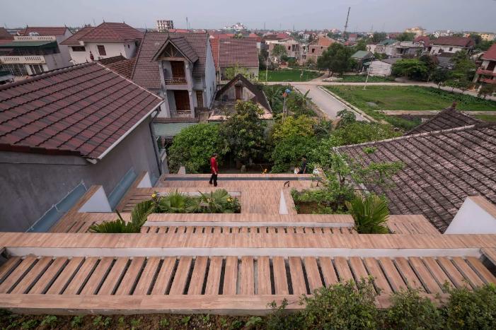 这才是屋顶绿化!你那只是绿色屋顶.....