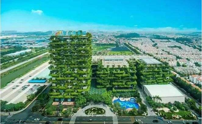 湖南立体绿化公司与您畅聊国内经典立体绿化案例