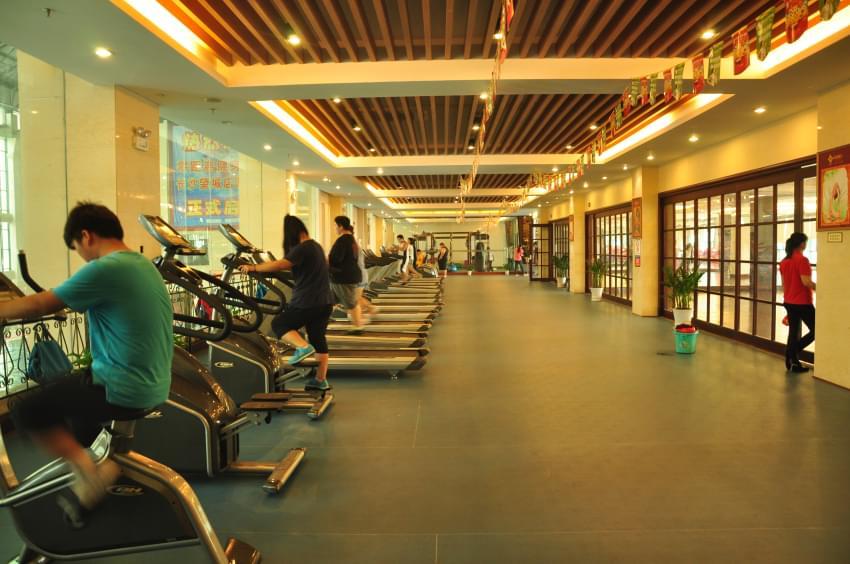 减肥训练营体育馆