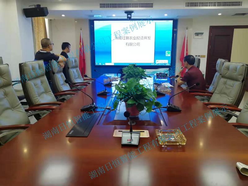 益阳红联农业投资开发有限公司视频会议系统/多媒体会议室